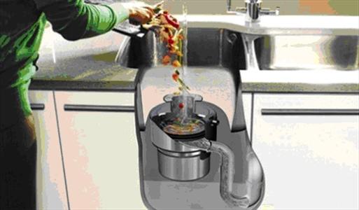 Trituratore lavello cucina pompa depressione for Tritarifiuti lavandino