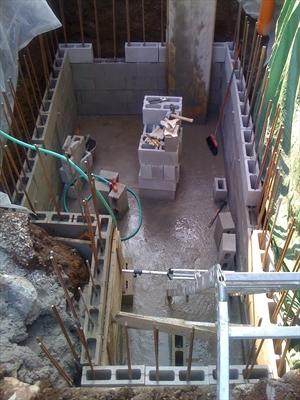 Autocostruzione vasca di raccolta acqua piovana per uso domestico